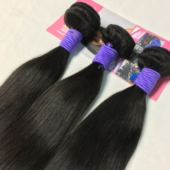 Raw Hair Straight Weaves