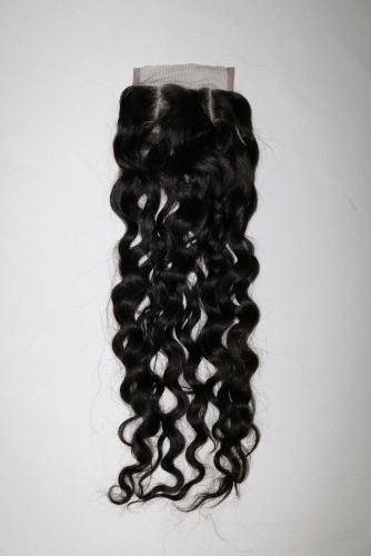 French curly closure