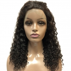 360 frontal jerry curly wigs