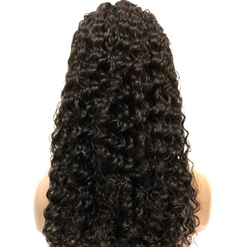 360 frontal deep wave wigs