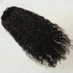 Raw full lace french curly wigs