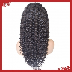 Virgin full lace deep wave wigs