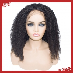 Virgin full lace kinky curly wigs