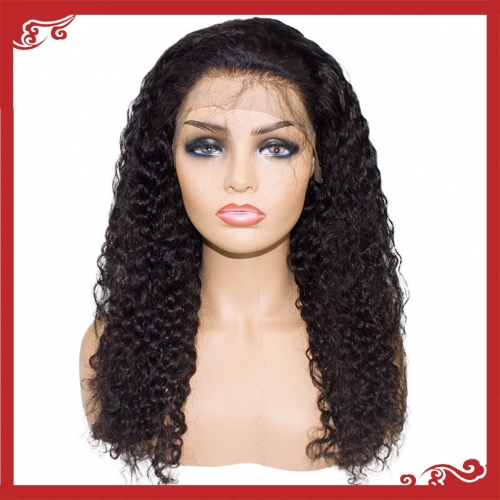 Virgin full lace water wave wigs