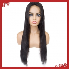 Virgin full lace straight wigs