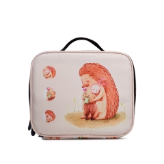 LUB009 White 900D PU Coated lunch box