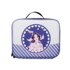 LUB005 White 900D PU Coated  lunch box