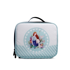 LUB011 White 900D PU Coated  lunch box