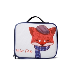 LUB006 White 900D PU Coated lunch box