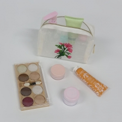 CBT100 Embroidered Cosmetic Bag