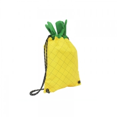 KID029 Pineapple Shaped Drawstring Bag