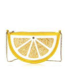 KID032  Lemon Shapde Sling Bag