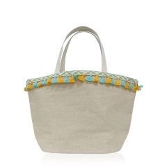 HAB060 Linen-Cotton Handbag
