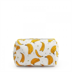 CNC045 Banana Fiber Cosmetic Bag