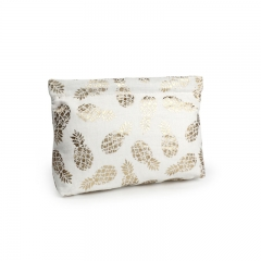 Spring Pouch Cosmetic Bag Pineapple Fiber - CNC069