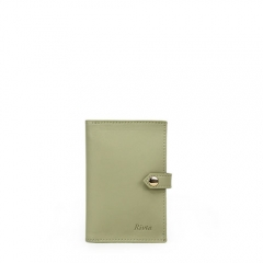Luxury Card Holder Recycled Leather - TRA024