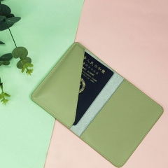 Practical Passport Holder Recycled Leather - TRA023