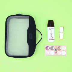 Travel Beauty Makeup Case Recycled PET Nylon Mesh - CBT130