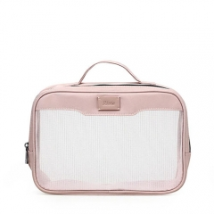 Travel Beauty Makeup Case Recycled PET Nylon Mesh - CBT132