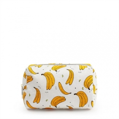 Small Pouch Cosmetic Bag Banana Fiber - CNC045