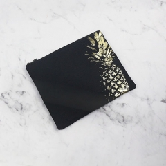 Flat Pouch Cosmetic Bag Pineapple Fiber - CNC099