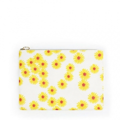 Flat Pouch Cosmetic Bag Pineapple Fiber - CNC103
