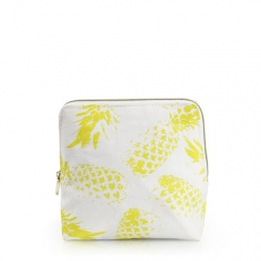 Essential Pouch Cosmetic Bag Pineapple Fiber - CNC091