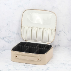 Travel Case Makeup Case Recycled Leather - COC007