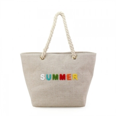 Everyday Shopping Handbag Jute - HAB089