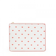 Flat Pouch Cosmetic Bag PU Leather - CBP197
