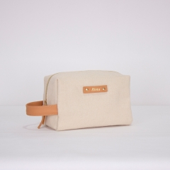 Travel Essential Toilery Bag Recycled Cotton - CBC078
