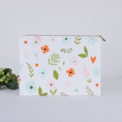 Flat Pouch Cosmetic Bag Cotton - CBC084