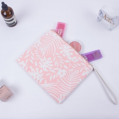 Flat Pouch Cosmetic Bag Recycled cotton - CBC098
