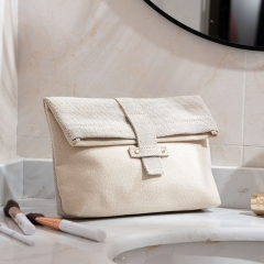 Essential Pouch Cosmetic Bag Recycled Cotton - CBC091