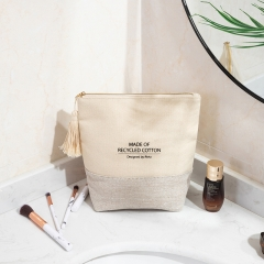 Essential Pouch Cosmetic Bag Recycled Cotton - CBC090
