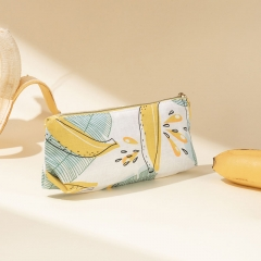 Small Pouch Cosmetic Bag Banana Fiber - CNC137
