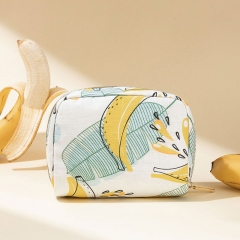 Small Pouch Cosmetic Bag Banana Fiber - CNC136