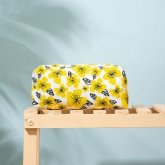 Small Pouch Cosmetic Bag Recycled cotton - CBC106