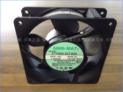 The original NMB Minebea 4715MS-20T-B50 axial flow fan cooling fan 200VAC 120X120MM