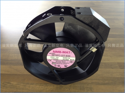 The original NMB Minebea 5915PC-22T-B30 axial flow fan 220V 38W 150X170X38MM