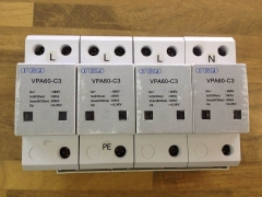 VPA60-C3 3P+N surge protection device 385V 60KA VGN new lightning protection