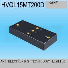 The three-phase high voltage rectifier bridge HVQL15MT200D high voltage 1.5A20KV high voltage three-phase rectifier bridge