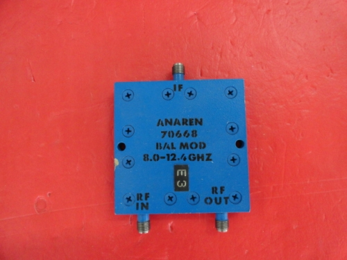 Supply ANAREN coaxial one point two power divider 70668 SMA 8-12.4GHz