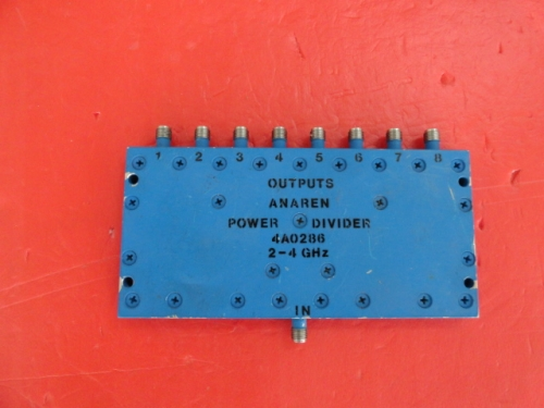 Supply ANAREN one point eight power divider 2-4GHz SMA 4A0286