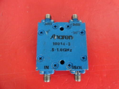 10014-3 0.5-1GHz 3dB ANAREN bridge SMA