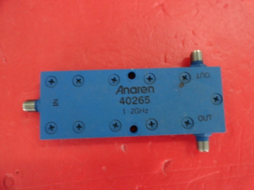 Supply ANAREN 40265 1-2GHz RF microwave coaxial one point two power divider SMA