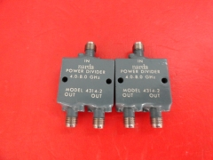 Supply Narda one point two power divider 4-8GHz SMA 4314-2