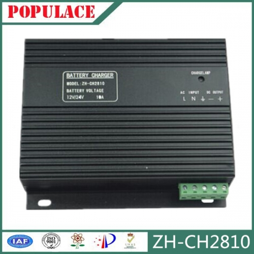 Generator battery charger 12V24V electric float lead-acid battery charger CH2810 10A