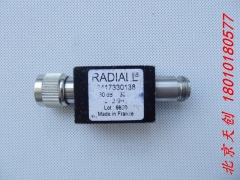 France imported RADIALL RF coaxial attenuator R417330138 30dB 30W 0-2GHz