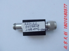 France imported RADIALL RF coaxial attenuator R417320118 20dB 25W 0-2GHz